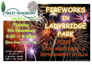 West Hunsbury PC Fireworks Display Nov 5th 2019